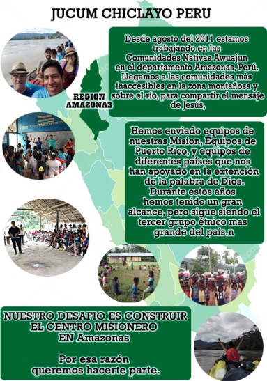 JUCUM REGION AMAZONAS PERU portada